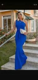 Vendo vestido azul Royal
