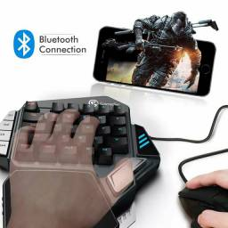 Teclado Gamersir Z1 KAILH Blue Para Jogos Mobile e PC Com Macros
