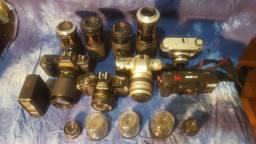 Câmeras analógicas lote fechado