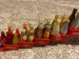 Garrafas mini garrafinhas coca cola Olimpíadas dj