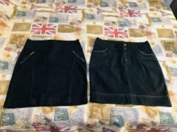 2 saias jeans marca Keda d água