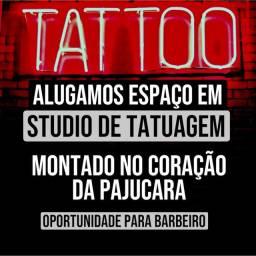 Locamos espaço em estudio de tatuagem montado na pajucara