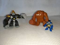 Imaginext Inimigos Monstro de Lama + Gorlia Grood