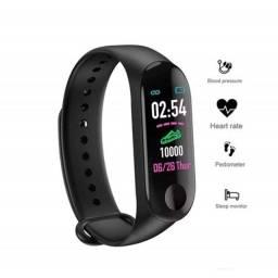 Pulseira Inteligente Smartband M4 Monitor Cardíaco Relógio (682227)