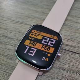Relógio Amazfit GTS com duas pulseiras