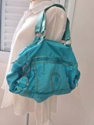 Bolsa maletinha kipling azul