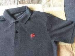 camisa polo atletico paranaense cinza