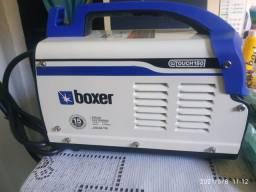 Máquina de solda Boxer,nunca foi usada,nova na caixa e com nota fiscal de compra.