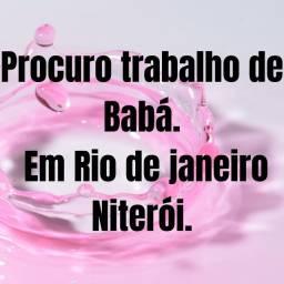 TRABALHO DE BABÁ.