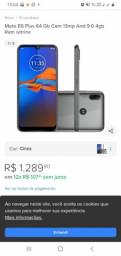 Celular MotoE6 Plus 64GB