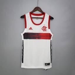 Cameseta Oficial Adidas Flamengo Basquete NBB