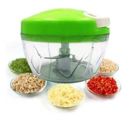 Título do anúncio: Mini Triturador Fatiador de Alho Manual Alimento Utensilio Cozinha Barato 3 laminas
