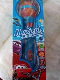 Brinquedo Microfone Musical