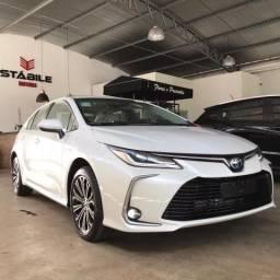 Toyota Corolla Altis Hybrid 1.8 Branco