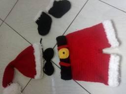 Roupa de natal crochê