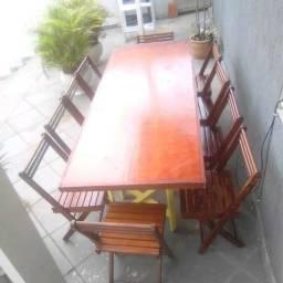 Aluguel mesa da Família c/08 lugares= 130,00