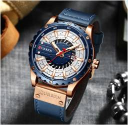 Relógio Masculino Curren Original Cronógrafo Quartzo
