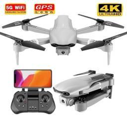 Drone F3 GPS 5g Camera 4k Distância 1km Função Voltar Automatico