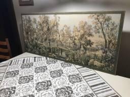 Quadro Gobelin grande tapeçaria antiga