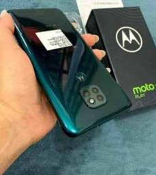 Moto g9 play Verde novo 64gigas 4 de RAM