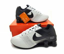 Tênis Masculino Nike Shox Deliver Classic Couro
