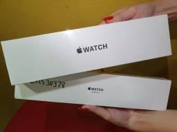 Apple Watch Series 3, 38 mm, Alumínio Prata, Pulseira Branca