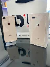 iPhone 8 Plus 64GB , seminovo garantia Apple Agosto 2021