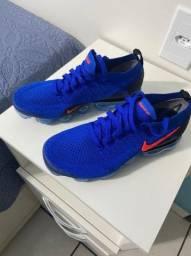 Tênis Nike vapormax azul 39 sem uso c/olho de gato
