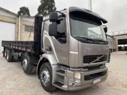 Volvo Vm 260 ano:11/11,cinza,bi-truck 8x2,com carroceria de 9 mts,ótimo estado