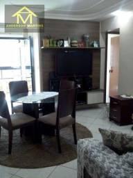 Apartamento pronto para morar, 02 quartos, andar alto, 01 vaga de garagem Cod 483 AMF