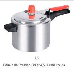 PANELA DE PRESSÃO 4,5 LITROS SÓ 85 REAIS