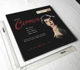 Raridade - Coleção Box Discos - Georges Bizet - Carmen - RCA Sêlo Vermelho - Anos 50