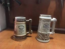 2 Canecas de chopp antigas vintage