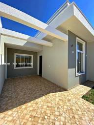 Casa para Venda em Ponta Grossa, Campo Belo, 3 dormitórios, 1 suíte, 1 banheiro, 1 vaga