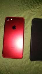 Vendo iPhone 7 red 256 GB