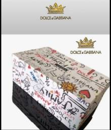 Dia das mães Tênis Dolce Gabbana linha Premium em couro número 38/39