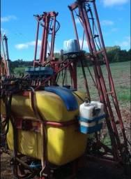 Pulverizador fankhauser 800 litros barra hidraulica