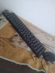 Mouse e  teclado novos