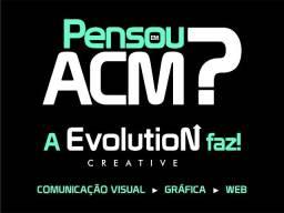 Pensou em ACM? Nós fazemos tudo que imaginar!