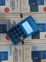 Nova Point Blue - Máquina de Cartões Com Visor Iluminado