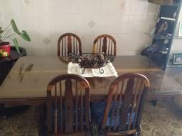 Mesa de imbuia madeira maciça
