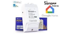 Sonoff Pow R2 - Chave, Medidor de energia, Interruptor Wifi - Google Assistente e Alexa