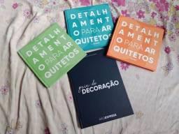 Livros de detalhamento para arquitetura e design de interiores