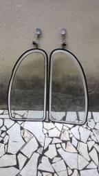 Vidros basculantes do Fusca