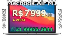 "Apple Macbook Air M1 A2337 8GB / 256 GB / Retina 13.3"" Space Gray, Gold ou Prata - Lacrado"