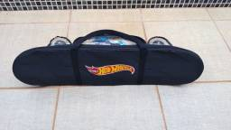 Skate Infantil Hotwheels C/ proteção