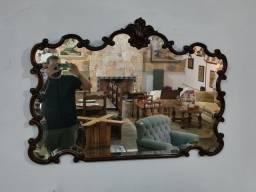 Espelho Dom José, cristal bisotado