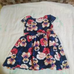 Vestido infantil tamanho M