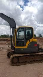 Escavadeira volvo ECR88 plus