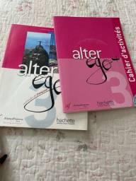 Título do anúncio: Livro Alter Ego+ e Cahier d?activities
